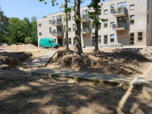 Nieuwbouw Rosa Spierhuis, Hector Treublaan in Laren